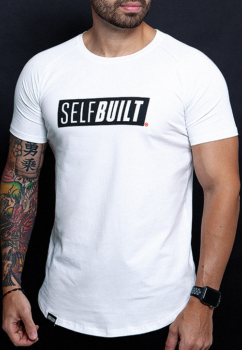 Lifestyle Tee - Pearl White - selfbuiltapparel.co