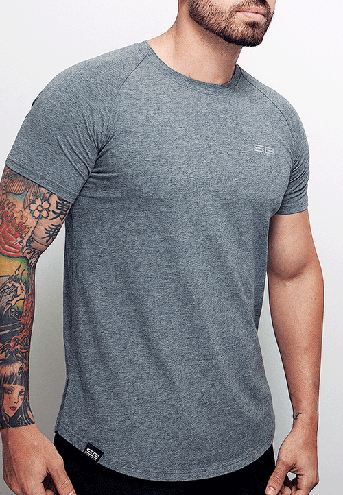 Lifestyle Tee - Heather Gray - selfbuiltapparel.co