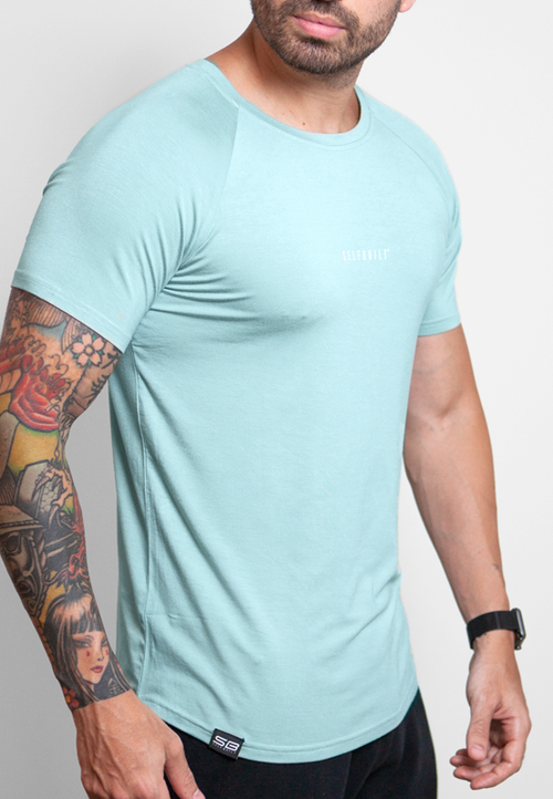Ultrasoft Lifestyle tee - Mint Green - selfbuiltapparel.co