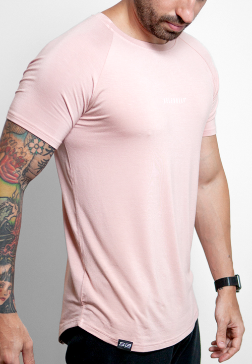 Ultrasoft Lifestyle Tee - Icy Rose - selfbuiltapparel.co