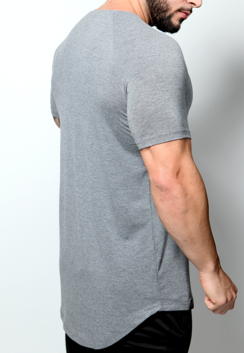 Ultrasoft Lifestyle Tee - Heather Gray - selfbuiltapparel.co