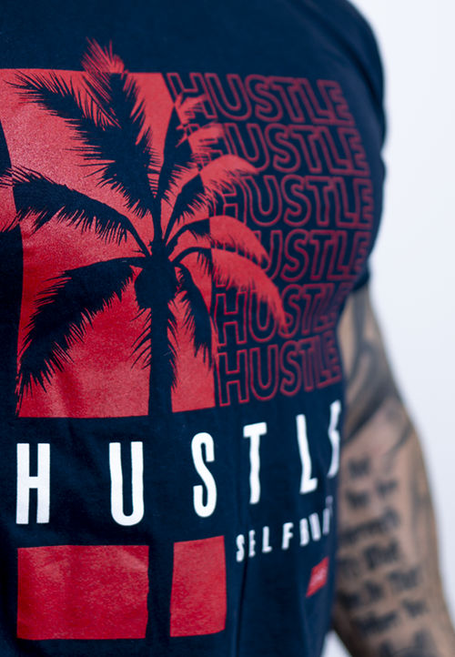 Hustle Tee - selfbuiltapparel.co