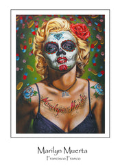 Limited Edition Marilyn Muerta Print