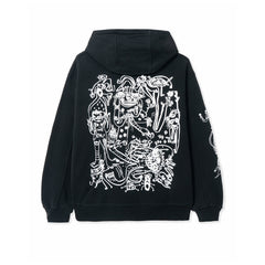 BRAIN DEAD<BR>SPRING '20<BR>'P&TY' FLEECE HOODY