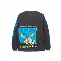 BRAIN DEAD<BR>SPRING '20<BR>'VEHICLE' LONGSLEEVE TEE