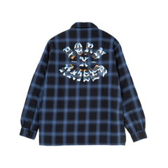 BORN X RAISED<BR>SPRING '20 DELIVERY 2<BR>'CHROME ROCKER FLANNEL'