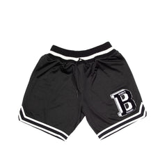 BORN X RAISED<BR>SPRING '20 DELIVERY 2<BR> 'LETTERMAN BASKETBALL SHORTS'