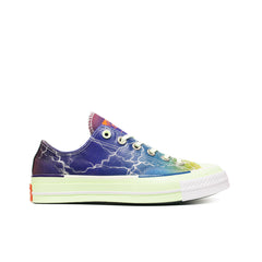 "CONVERSE <BR> PIGALLE CTAS70 OX ""LIGHTNING STORM"" (MULTI / BARELY VOLT)"