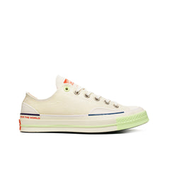 "CONVERSE <BR> PIGALLE CTAS70 OX ""LIGHTNING STORM"" (WHITE / BARELY VOLT)"