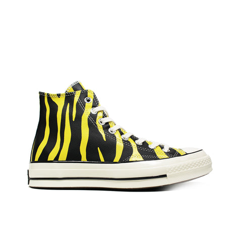 CONVERSE <BR> CTAS70 HI 'LEATHER ARCHIVE PRINT' (VIVID SULFUR)