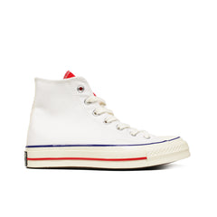 "CONVERSE <BR> CTAS70 HI ""VARSITY REMIX"" (WHITE / UNIVERSITY RED)"