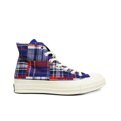 CONVERSE <BR> CTAS70 HI 'TWISTED PREP' (RUSH BLUE / UNIVERSITY RED)