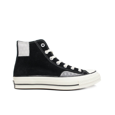 CONVERSE <BR> CTAS70 HI 'TWISTED PREP' (BLACK / MOUSE)
