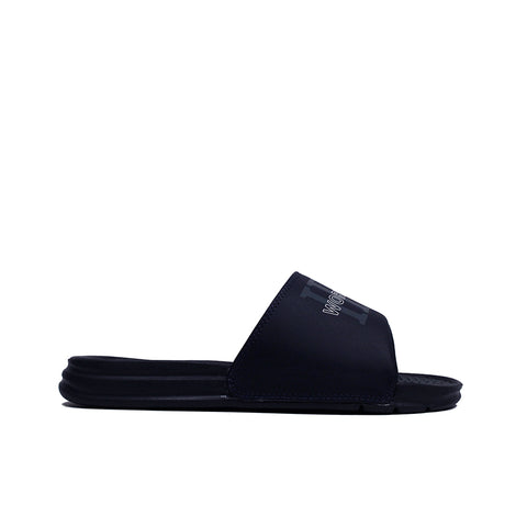 HUF <BR> WORLDWIDE SLIDE (NAVY)