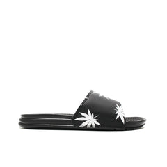 HUF <BR> PLANTLIFE SLIDE (BLACK)