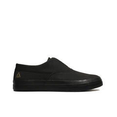 HUF <BR> DYLAN SLIP-ON (BLACK)