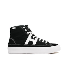 HUF <BR> HUPPER 2 HI (BLACK/WHITE)