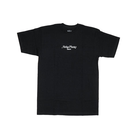 KICKS/HI<BR>FALL '20<BR>'ALOHA PLENTY' TEE (BLACK)