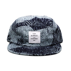 KICKS/HI <BR> 'LEAF ME ALONE' MADE IN USA 5-PANEL CAMP CAP