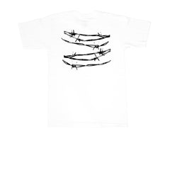 KICKS/HI <BR> COUPED TEE (WHITE)