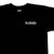 KICKS/HI <BR> COUPED TEE (BLACK)