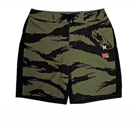 KICKS/HI <BR> HURLEY PHANTOM 18 BOARD SHORT (DISRUPT CAMO/BLACK)