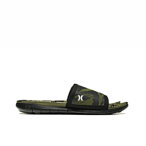 KICKS/HI <BR> HURLEY PHANTOM FREE SLIDE (DISRUPT CAMO/BLACK)