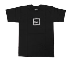 KICKS/HI <BR> 'PINWHEEL BOX LOGO' S/S TEE (BLACK)