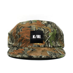 KICKS/HI <BR> 'MOSS CAMO' MADE IN USA 5-PANEL CAMP CAP