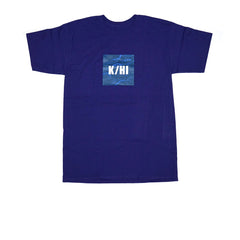 KICKS/HI <BR> K/HI BOX 'KAIMANA' TEE (PURPLE)