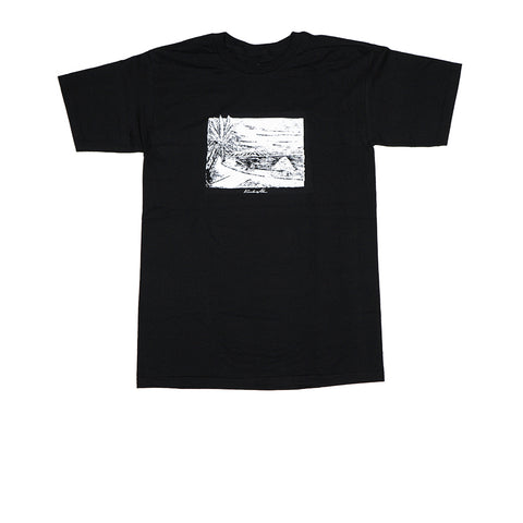 KICKS/HI <BR> 'LEAHI' TEE (BLACK)