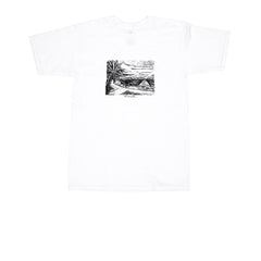 KICKS/HI <BR> 'LEAHI' TEE (WHITE)