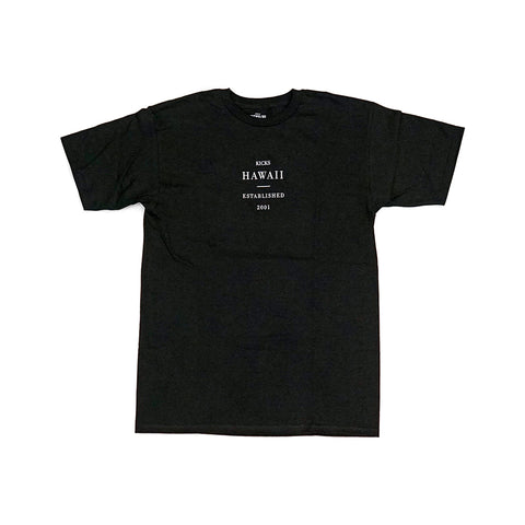 KICKS/HI <BR> SU'20 'SUBSTANCE' TEE (BLACK)