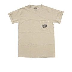 "KICKS/HI <BR> ORIGINAL CREST POCKET ""GARMENT DYE"" (SAND)"