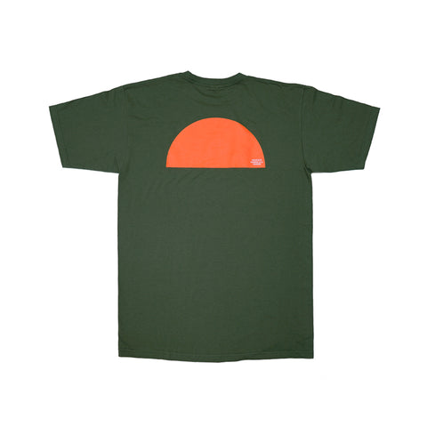 KICKS/HI<BR>SPRING '20<BR>'SUNRISE' TEE (MILITARY GREEN)