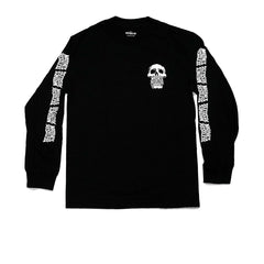 "KICKS/HI <BR> ""NATTIVES ARE RESTLESS"" L/S TEE (BLACK)"