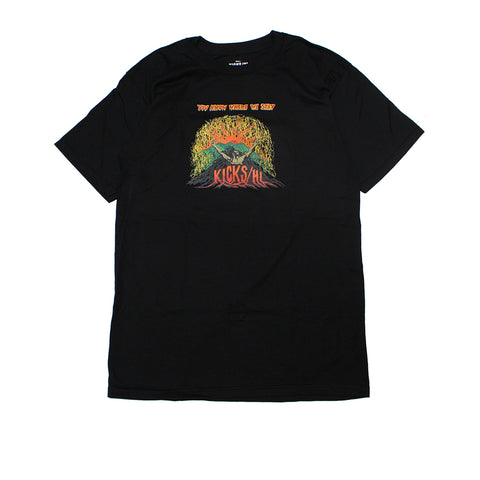 KICKS/HI <BR> UPRISING TEE (BLACK)