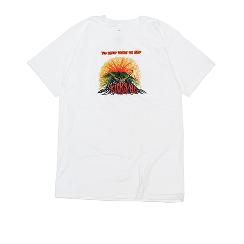 KICKS/HI <BR> UPRISING TEE (WHITE)