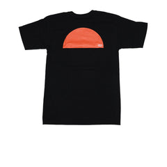 KICKS/HI <BR> 'SUNSET' TEE (BLACK)