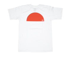 KICKS/HI <BR> 'SUNSET' TEE (WHITE)