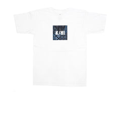 KICKS/HI <BR> K/HI BOX 'PATCHWORK' TEE (WHITE)