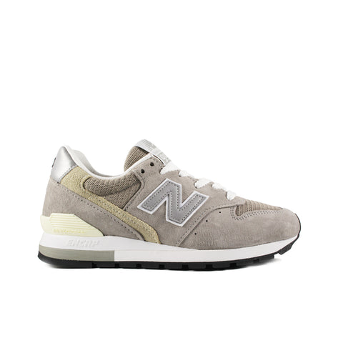 NEW BALANCE <br> MADE IN USA 996 'PIGSKIN SUEDE' (GREY)