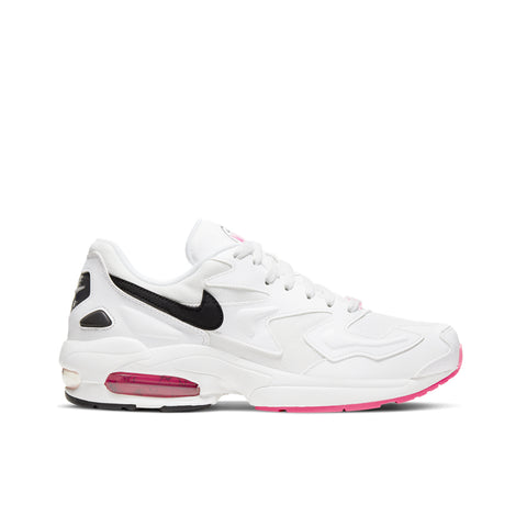 NIKE <BR> AIR MAX2 LIGHT (SUMMIT WHITE / HYPER PINK)