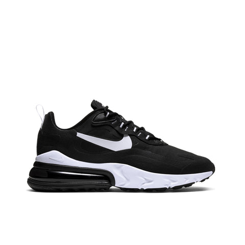 NIKE <BR> AIR MAX 270 REACT (BLACK / WHITE)