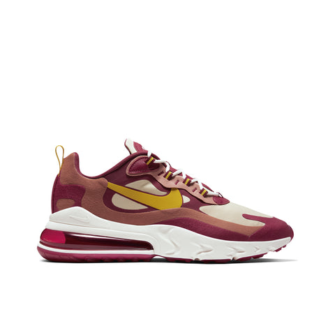 NIKE <BR> AIR MAX 270 REACT (MOBILE RED)