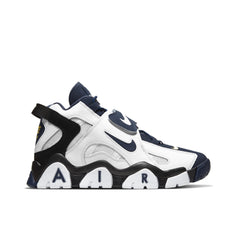 NIKE <BR> BARRAGE MID (WHITE / MIDNIGHT NAVY)