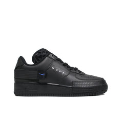 NIKE <br> AIR FORCE 1-TYPE (BLACK / PHOTO BLUE)