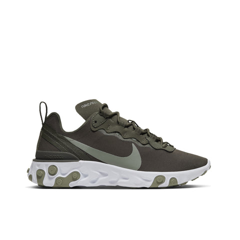 NIKE <BR> REACT ELEMENT 55 (CARGO KHAKI)