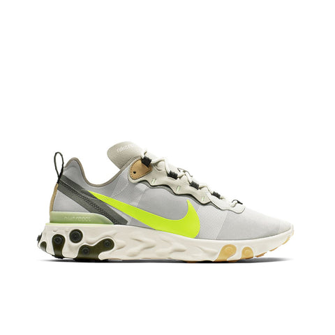 NIKE <BR> REACT ELEMENT 55 (SPRUCE AURA)