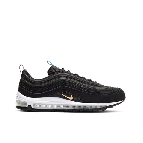 NIKE <BR> AIR MAX 97 QS (BLACK / METALLIC GOLD)